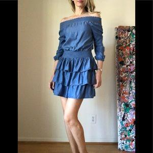 Michael Micheal Kors Off Shoulder Dress